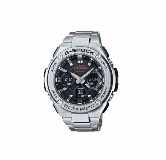 Casio G Shock Gst S110d 1adr Timepieces G Steel Series Stainless